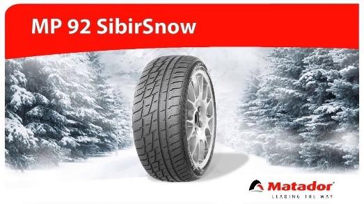 Matador MP92 Sibir Snow