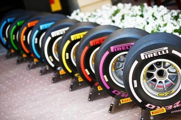 zmesi pneumatík Pirelli