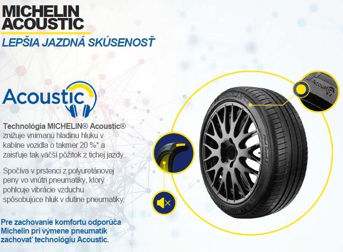 Michelin tiché pneumatiky