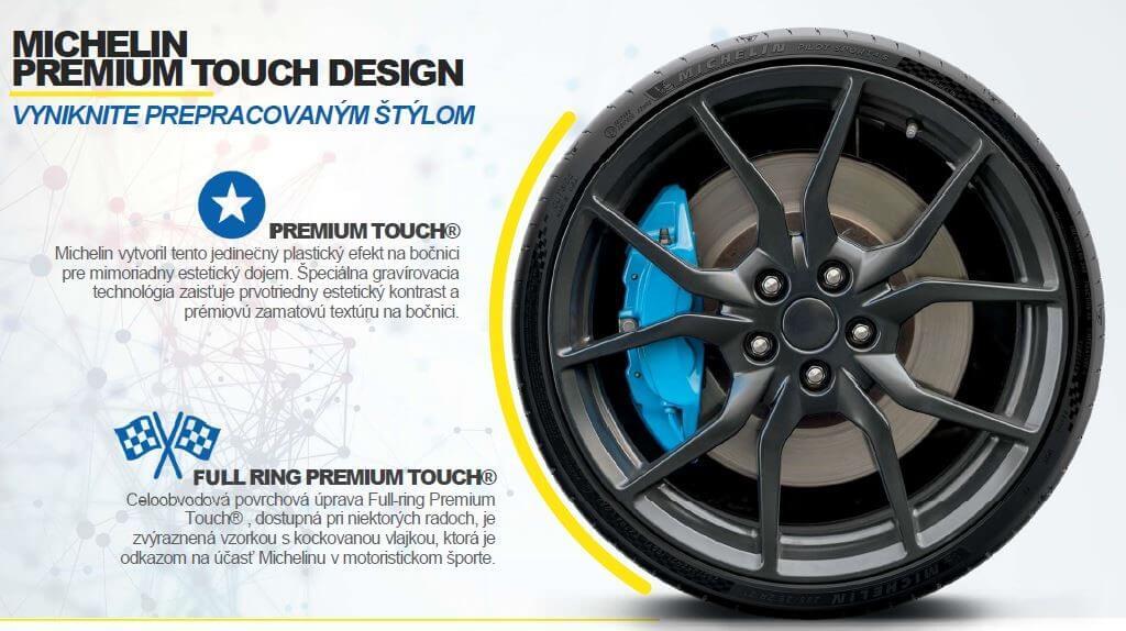 pneumatiky Michelin letné