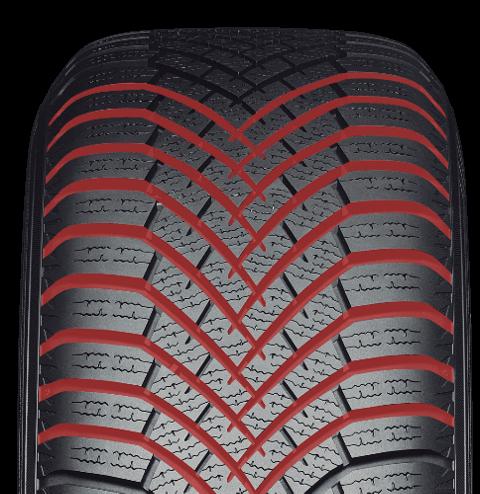 zimné pneumatiky Yokohama V906 dezén