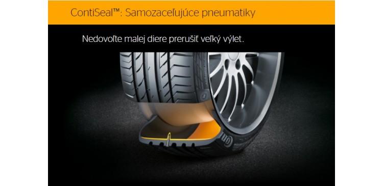 Už viac než 15 miliónov pneumatík ContiSeal™ -technológiou od Continentalu